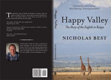 Happy Valley: the story of the English in Kenya Cover