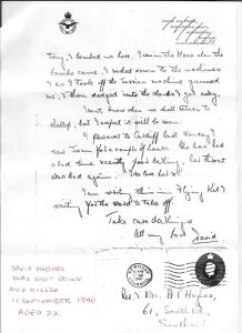 Battle of Britain Letter 3